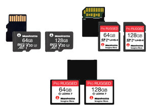 Manfrotto Is A New Name In The Memory Card Market