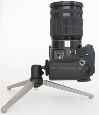 Manfrotto MTT2-P02 with Upright Camera