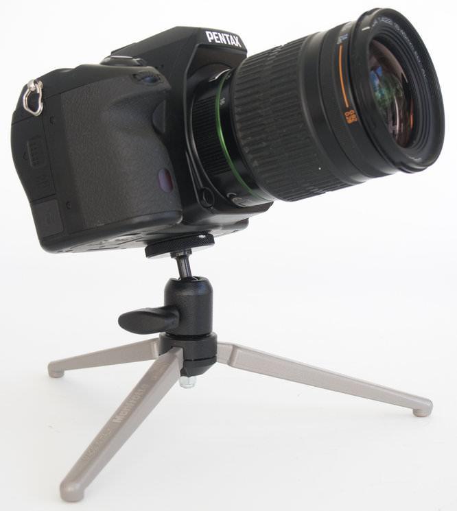 Manfrotto MTT2-P02 with Horizontally Angled Camera