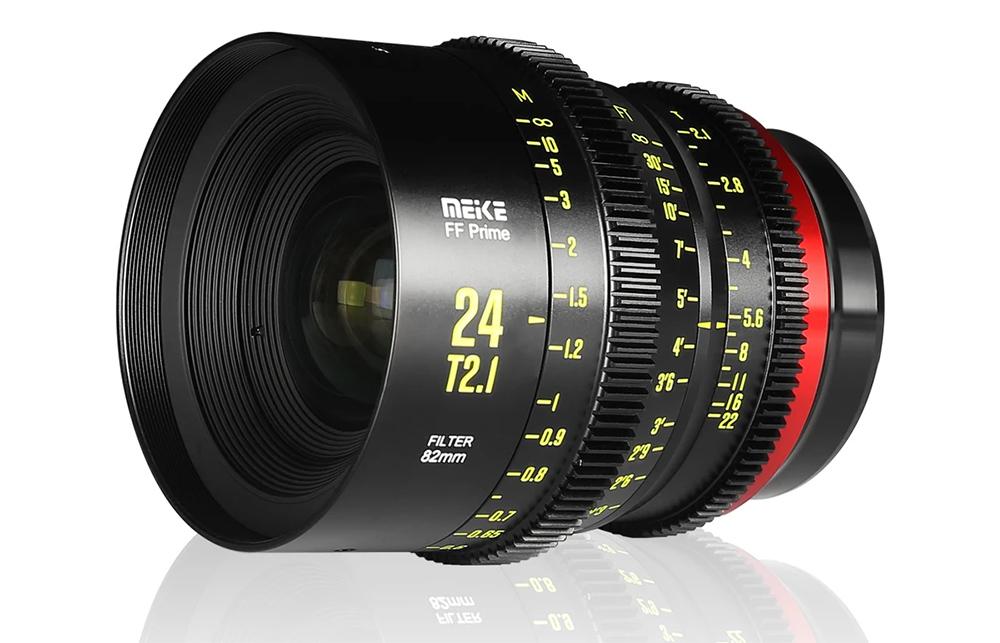 Meike 24mm T2.1 FF-Prime Cine Lens