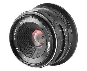 Meike 25mm f/1.8 Manual Focus Lens For Nikon Z Announced