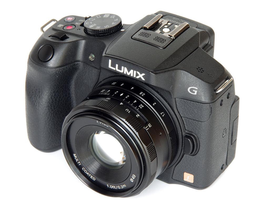 Meike 35mm F1,7 On Lumix G6