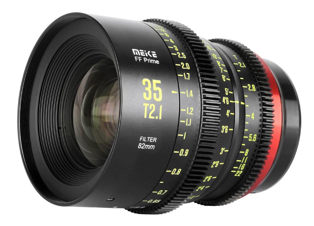 Meike 35mm T2 1 Ff Cine Lens