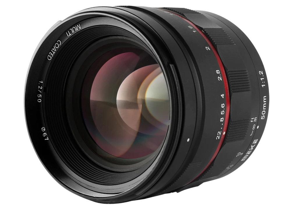 Meike 50mm f/1.2 Lens