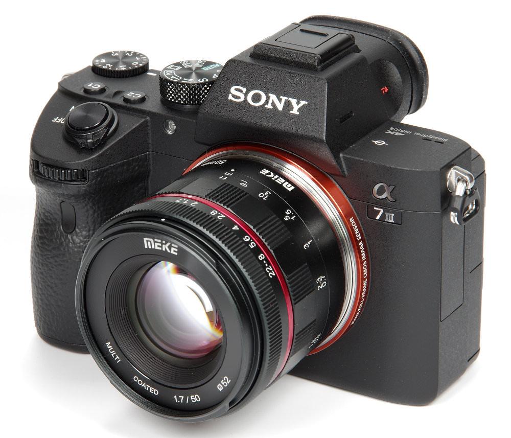 Meike 50mm F1,7 On Sony A7III