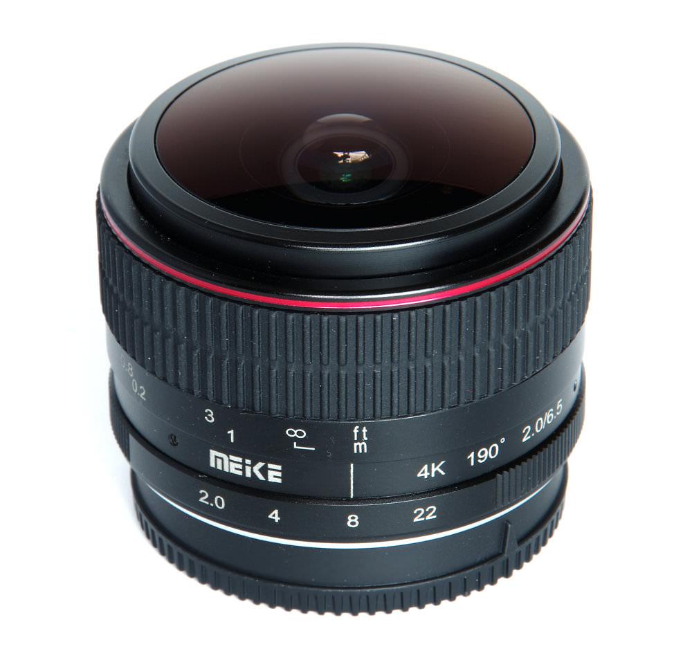 Meike 6,5mm F2 Fisheye Vertical View