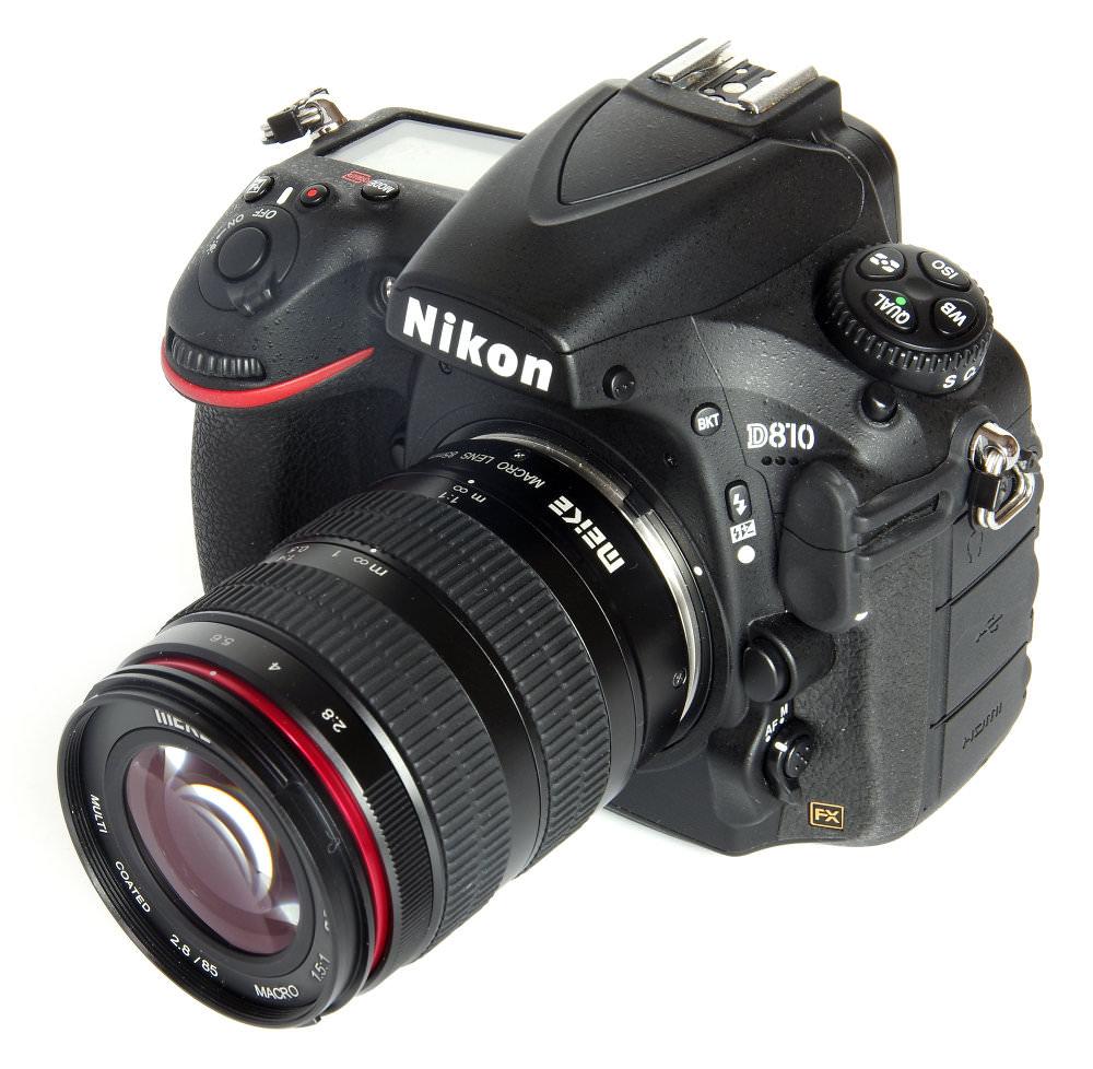 Meike 85mm F2 8 Macro On Nikon D810