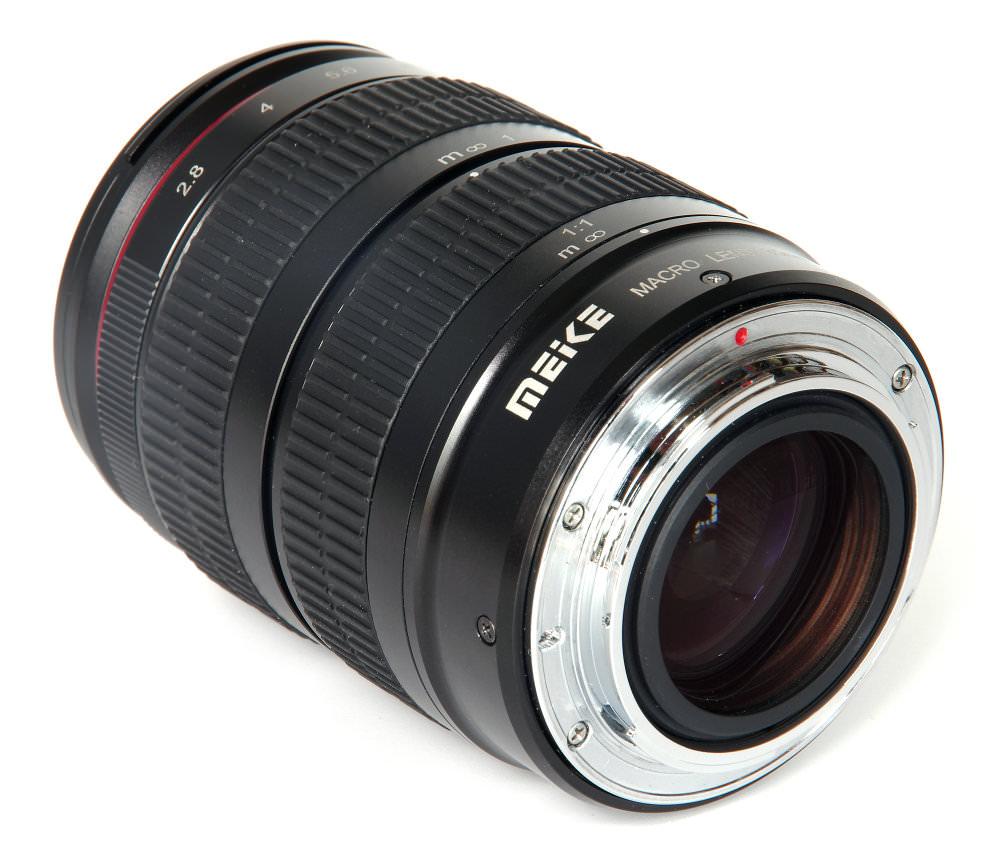 Meike 85mm F2 8 Macro Rear Oblique View