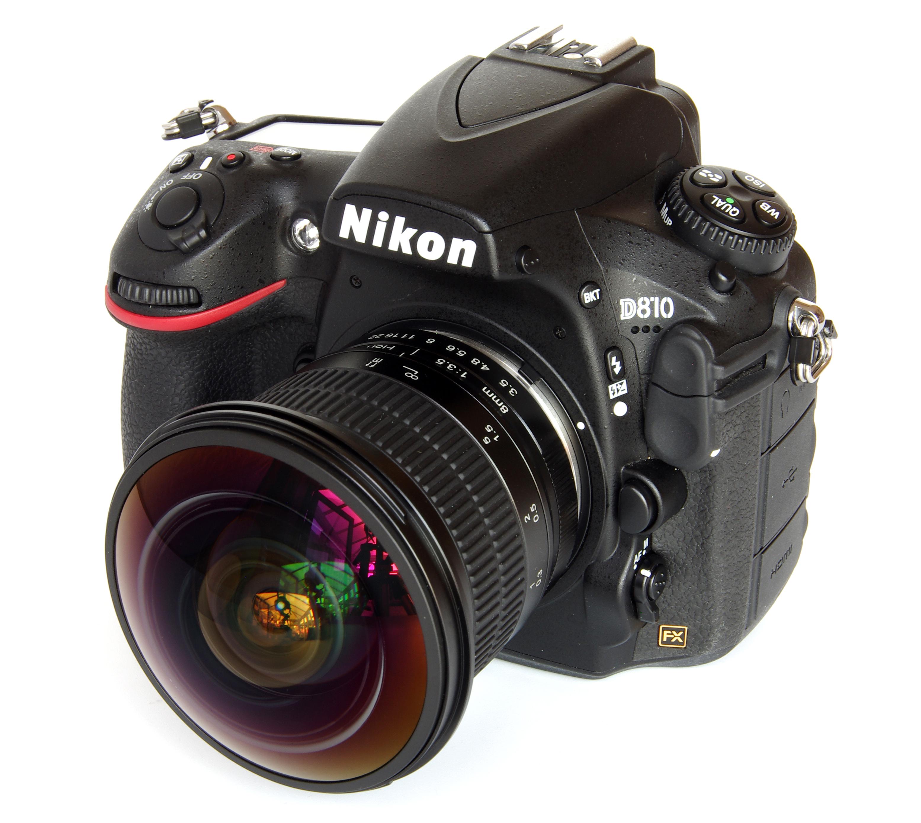 Objektiv Meike 8mm f//3.5 für Nikon F DSLR