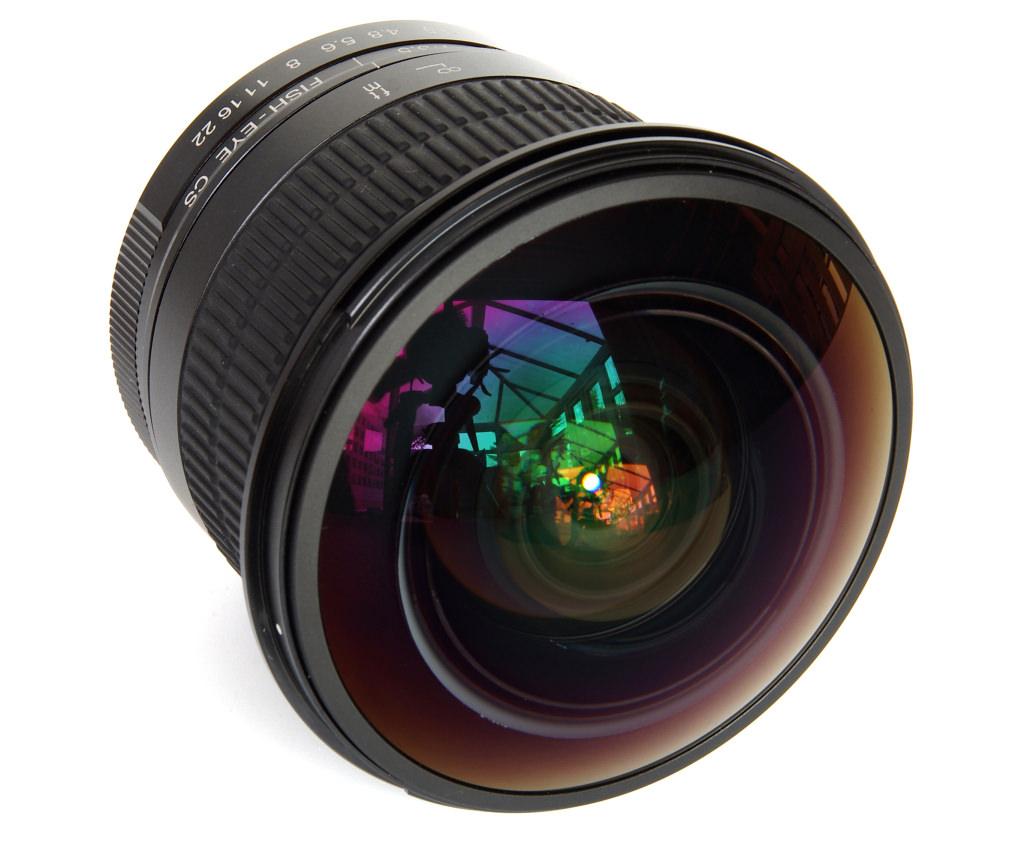 Meike 8mm f 3 5 fisheye cs lens review for Fish eye lense