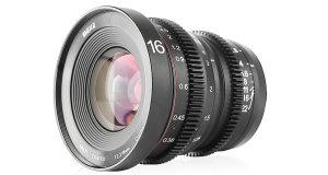 Meike Announce 16mm T2.2 Manual Focus Cinema Lens