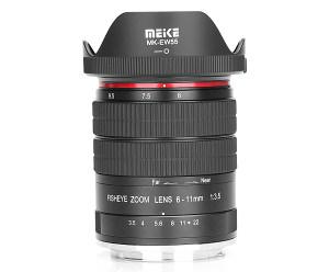 Meike Announce 6-11mm Fisheye Lens
