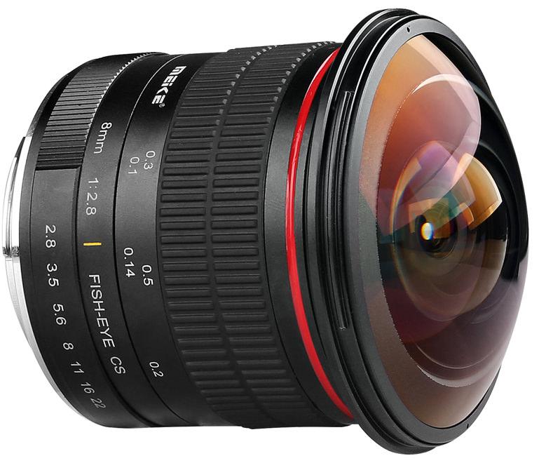 Meike 8mm lens