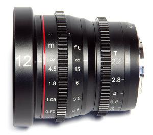 Meike MK-12mm T2.2 Cine Lens Micro Four Thirds Cameras