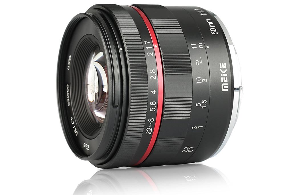 50mm f/1.7 lens