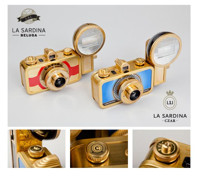 La Sardina cameras