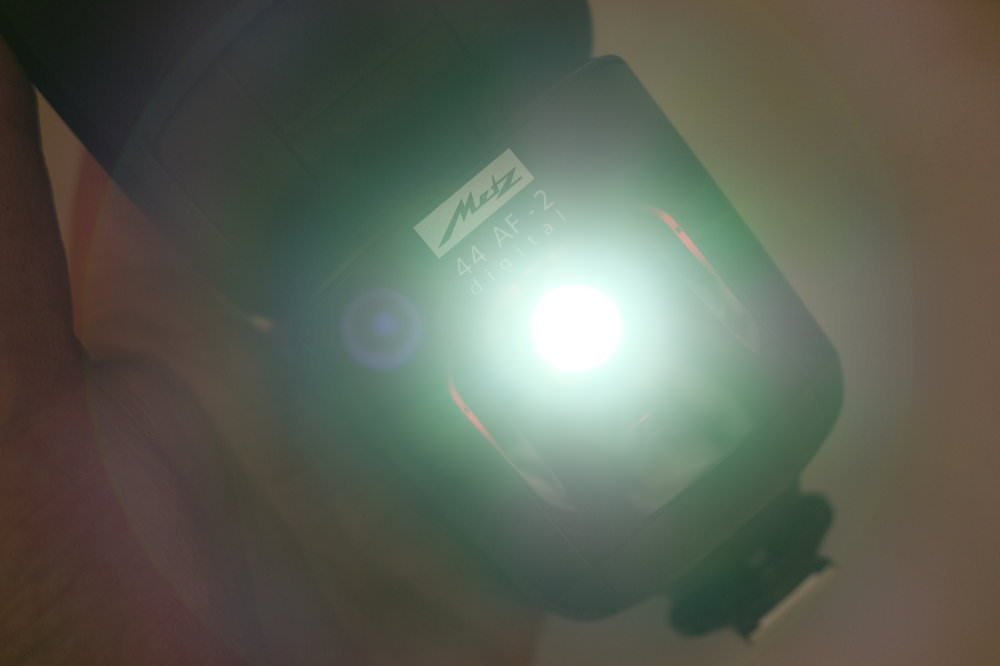 Metz 44 AF 2 Digital Flashgun LED Full Power