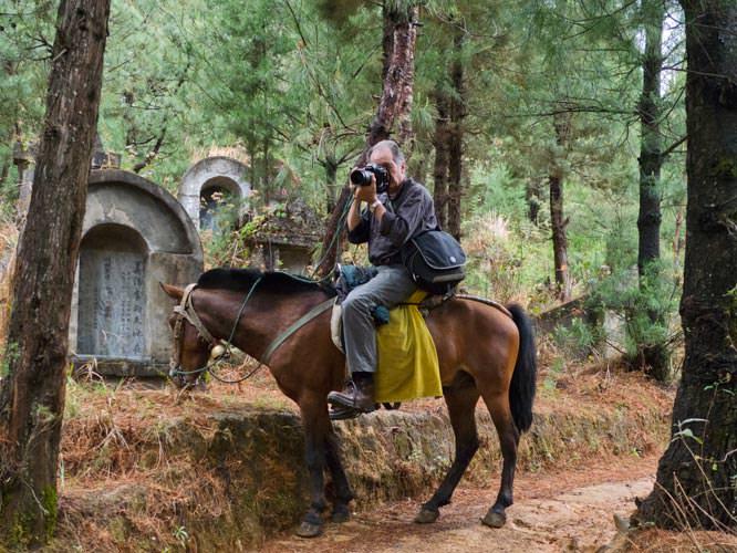 Freeman on horseback