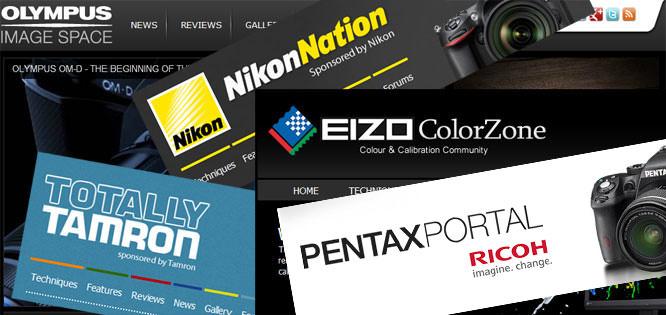 ePHOTOzine micro sites