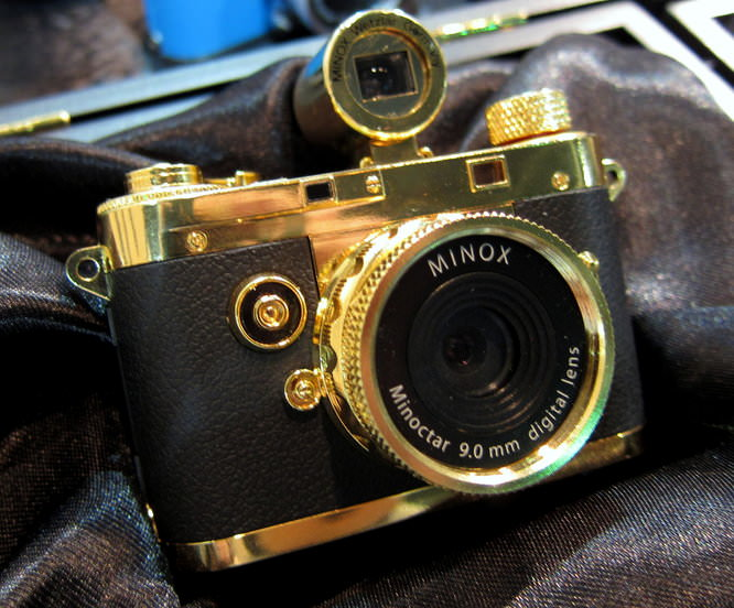 Minox Digital Classic Camera 5.1 24k Gold
