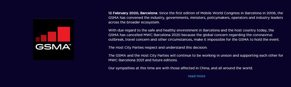 GSMA Statement