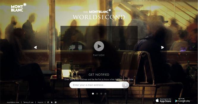 MontBlanc World second