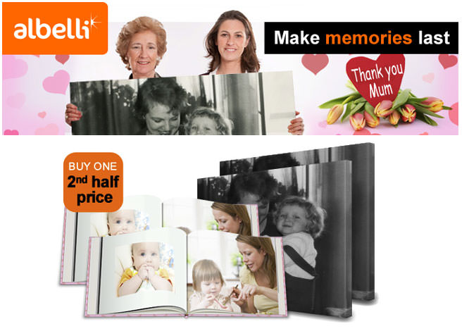 Albelli Photo Book and Canvas offer