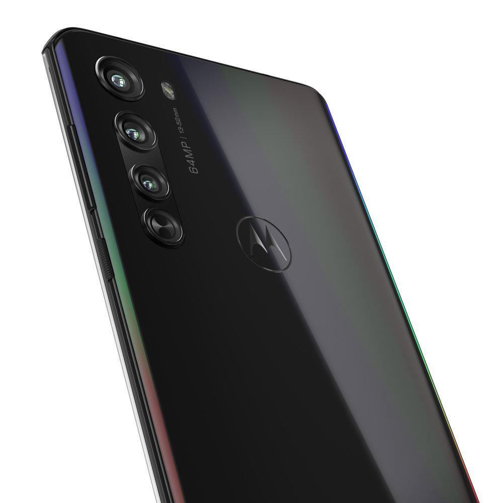 Motorola Edge Solar Black Detail