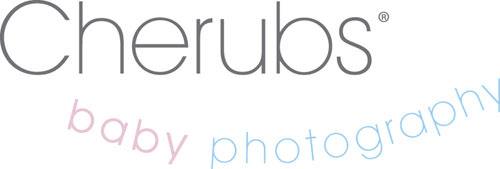 Cherubs Baby Photography Logo