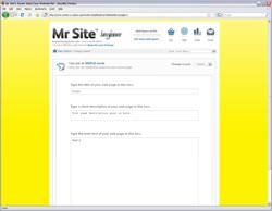 Mr Site Takeaway Website Beginner
