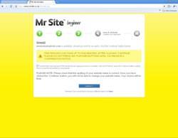 Mr Site Takeaway Website Beginner