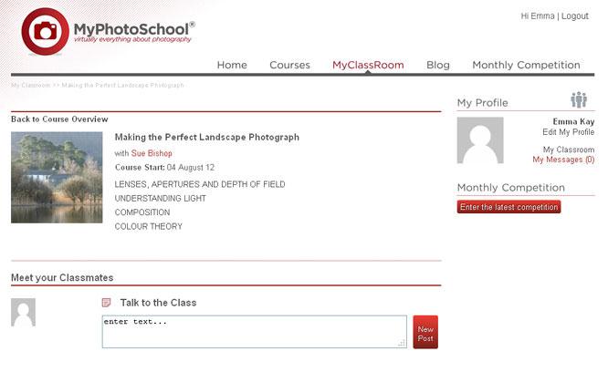 MyPhotoSchool Landscape Course