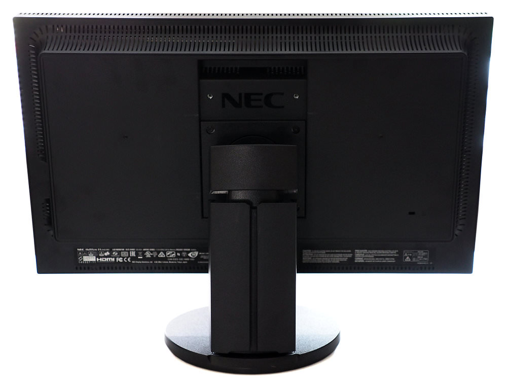 NEC MultiSync EA244UHD Rear