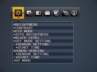 NEC MultiSync EA244UHD Menus (2)