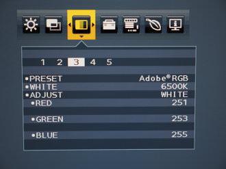 NEC MultiSync EA244UHD Menus (4)