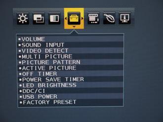 NEC MultiSync EA244UHD Menus (5)