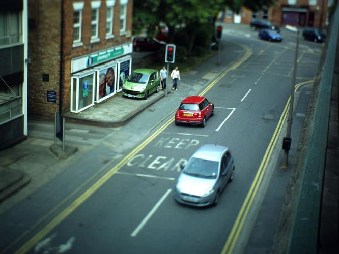 'model' street