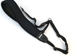 Neoprene digital camera strap group test