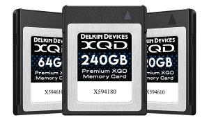 New Delkin XQD Memory Cards & XQD Adapter
