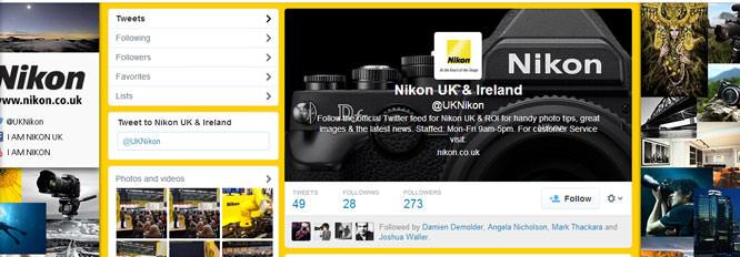 Nikon Twitter