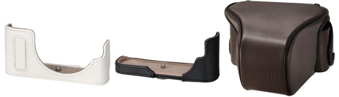 Olympus Leather Cases
