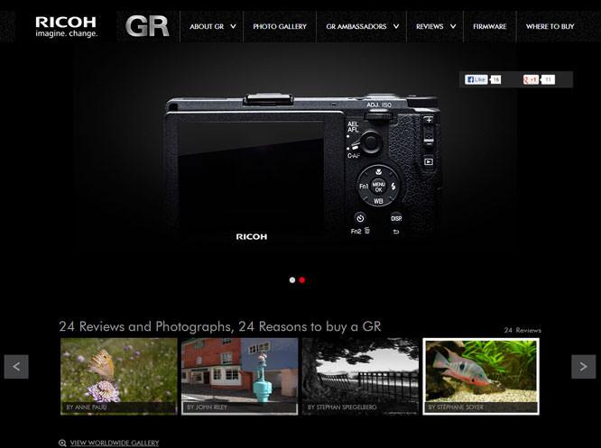 GR website