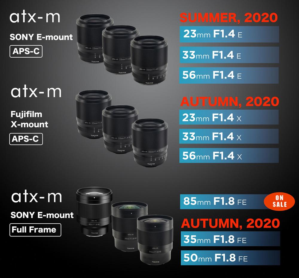 Tokina Lens Lineup 2020