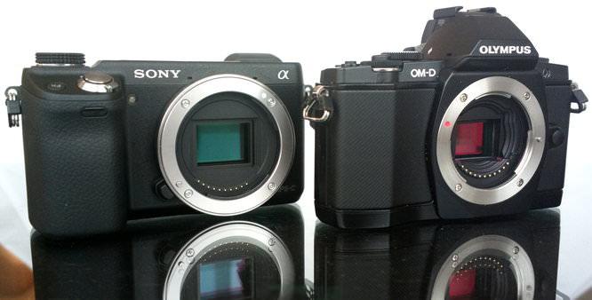 Sony NEX 6 Vs Olympus OM D E M5 (1)