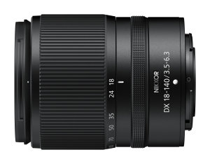 Nikkor Z DX 18-140mm F/3.5-6.3 VR Lens Announced