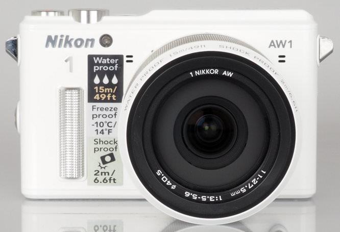 Nikon 1 AW1 White (16)