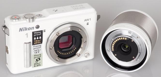 Nikon 1 AW1 White (5)