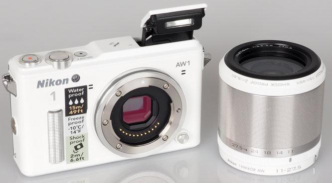Nikon 1 AW1 White (7)