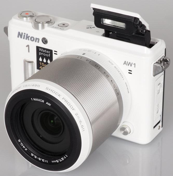 Nikon 1 AW1 White (1)