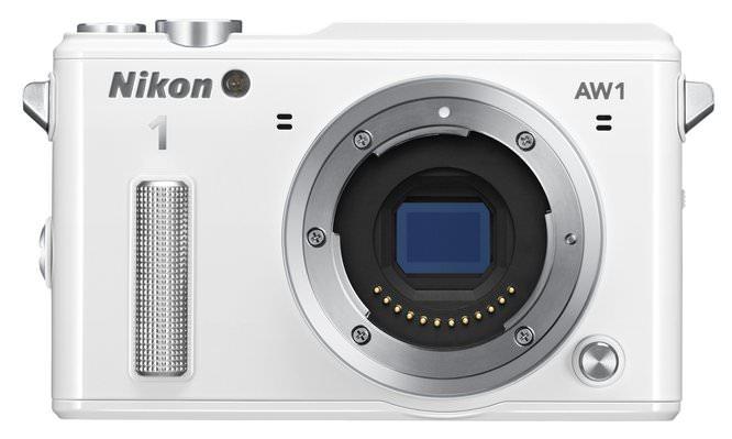 Nikon AW1 WH Front